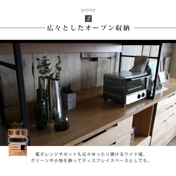 アデペシュ 食器棚 スプレム キッチンボード 1200 『splem a.depeche 収納 キッチン アイアン 幅120cm 鉄 木製 』|a-depeche|09