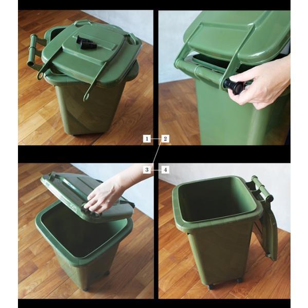 ストッケージ トラッシュ ボックス おしゃれな ゴミ箱 収納ケースとしての使い方もお勧め|a-depeche|06