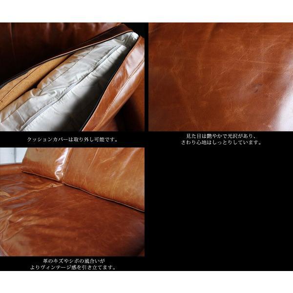 ヴィデル ソファ キャメル オイル レザー VIDER sofa camel oil leather|a-depeche|04