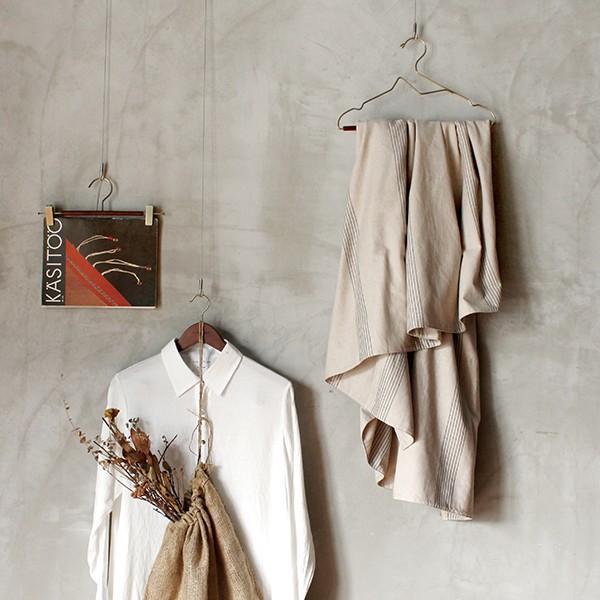 木製ハンガー 2点セット 『ウッド ハンガー ボード 2個セット』 スカート おしゃれ クリップ付 コート|a-depeche|08
