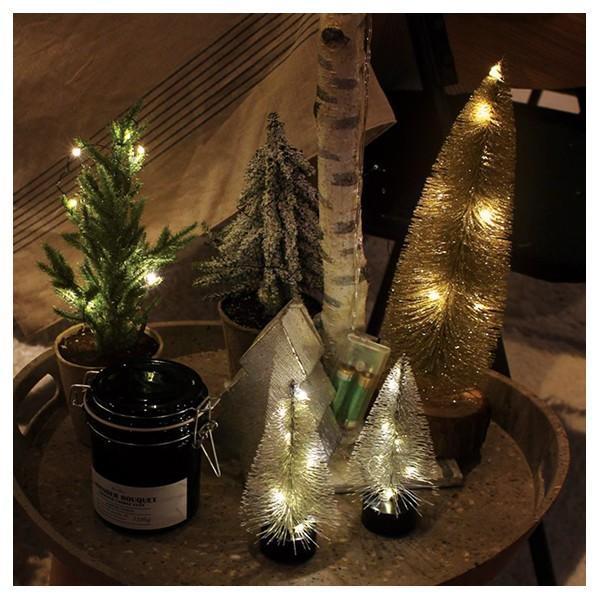 クリスマスツリー 卓上 『クリスマス LEDミニツリー Bタイプ』 北欧 Xmas ミニ クリスマス装飾 おしゃれ 北欧インテリア シンプル aw|a-depeche|03