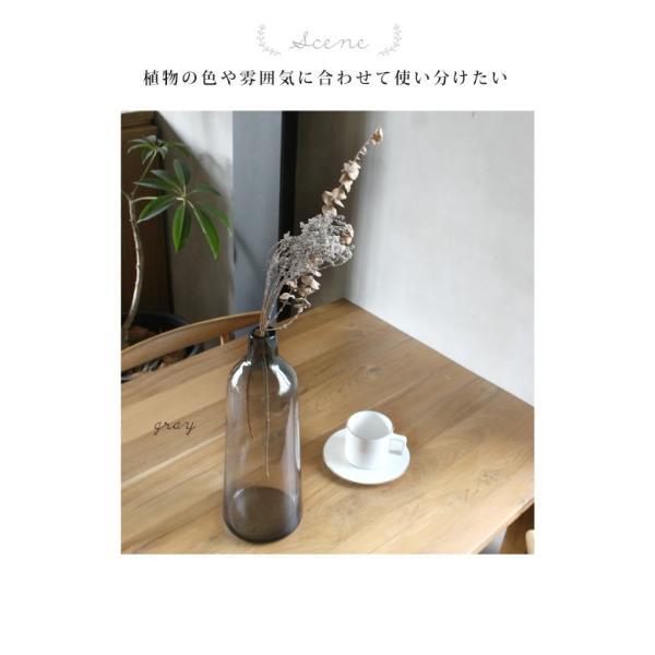フラワーベース ガラス 『ガラス カラーリング フラワーベース ロフティ』 花瓶 リサイクルガラス 大きい 大型  シンプル カラー おしゃれ 北欧 雑貨 一輪挿し a-depeche 05