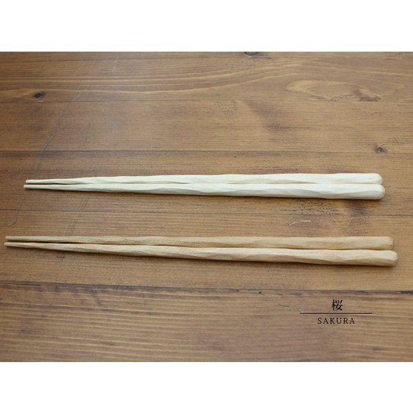けずり箸 ビーワックス 日本製の、天然木を使用したけずり箸|a-depeche|03