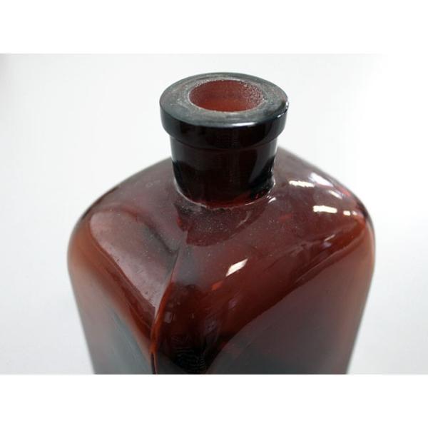 チェコ/角型試薬瓶 ブラウン 中古 (500ml)|a-depeche|02