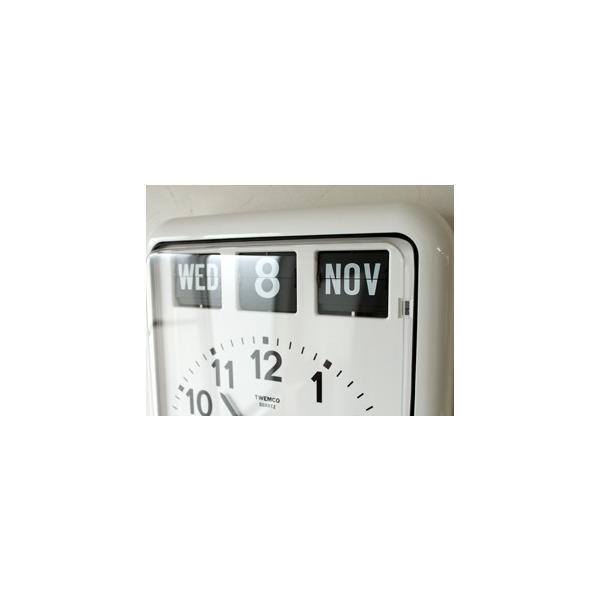 TWEMCO/トゥエンコ BQ-12A カレンダー付きのウォールクロック|a-depeche|02