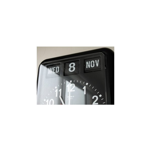 TWEMCO/トゥエンコ BQ-12A カレンダー付きのウォールクロック|a-depeche|03