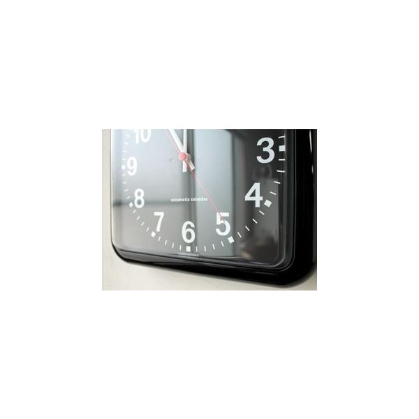 TWEMCO/トゥエンコ BQ-12A カレンダー付きのウォールクロック|a-depeche|05