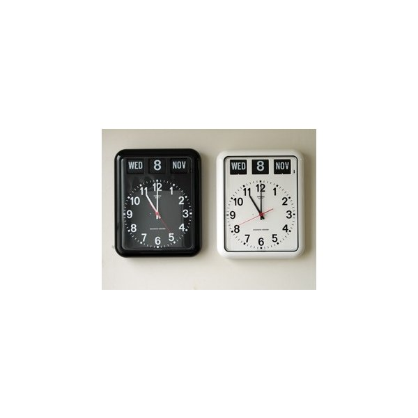 TWEMCO/トゥエンコ BQ-12A カレンダー付きのウォールクロック|a-depeche|06
