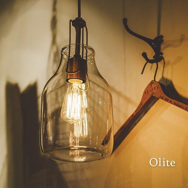 インターフォルム ペンダントライト オリテ 1灯 天井照明 ガラスシェード 三角錐型 丸型 ボトル型 透明 電球付属 Olite LT-1608 取り寄せ商品 a-depeche 02