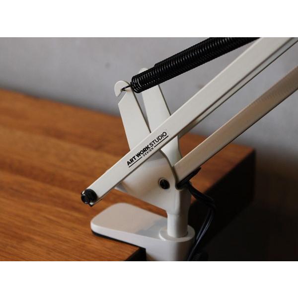 スネイルデスクアームライト(LED) Snail desk arm-light(LED) 無駄のないシンプルなデザインのデスクライト|a-depeche|06