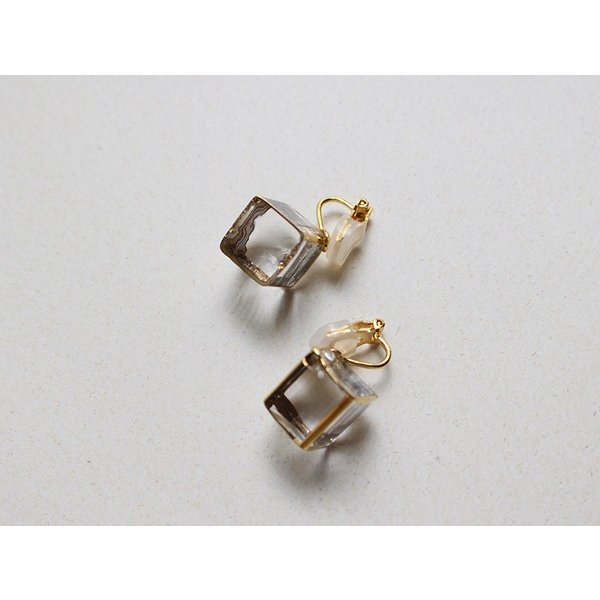 イヤリング sorte glass jewelry イヤリング SGJ-006E ガラスと金の繊細な組み合わせを楽しむイヤリング|a-depeche|02