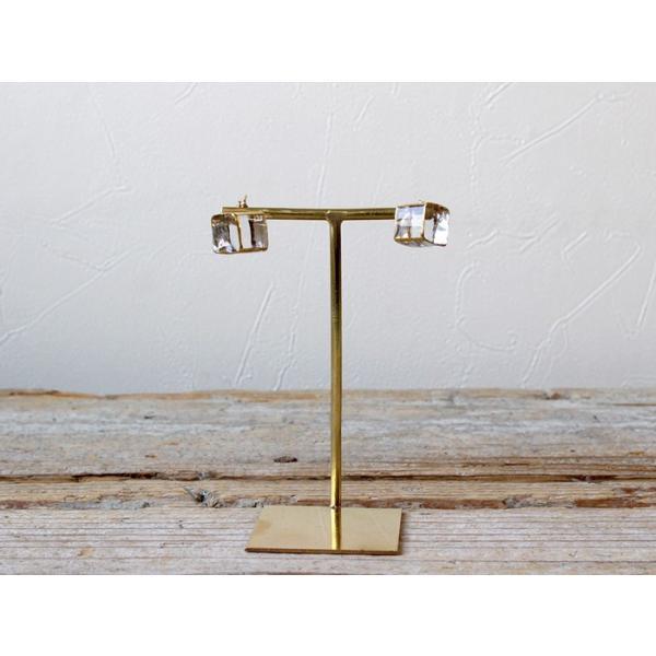 ピアス sorte glass jewelry ピアス SGJ-006P ガラスと金の繊細な組み合わせを楽しむピアス a-depeche 03