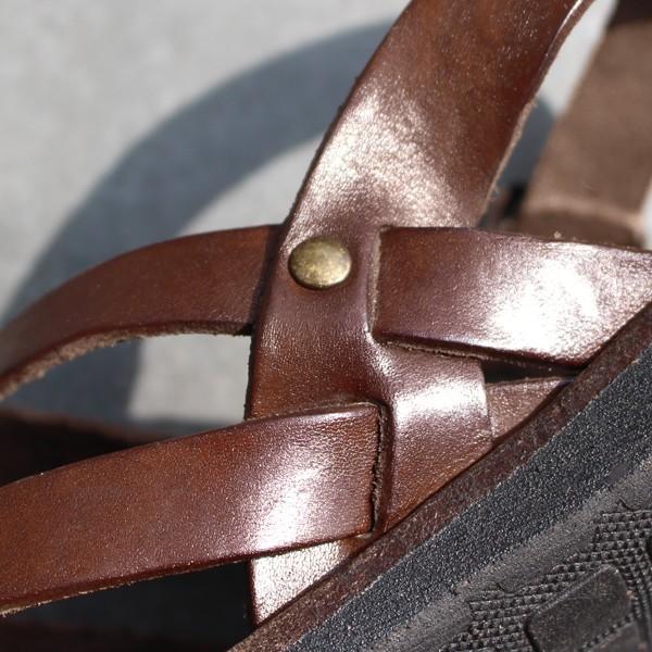 サンダル ブラドール レザーサンダル グラディエーター 『ART-34-506 BRADOR レディース ぺたんこ 歩きやすい フラット 本革 牛革』|a-depeche|13