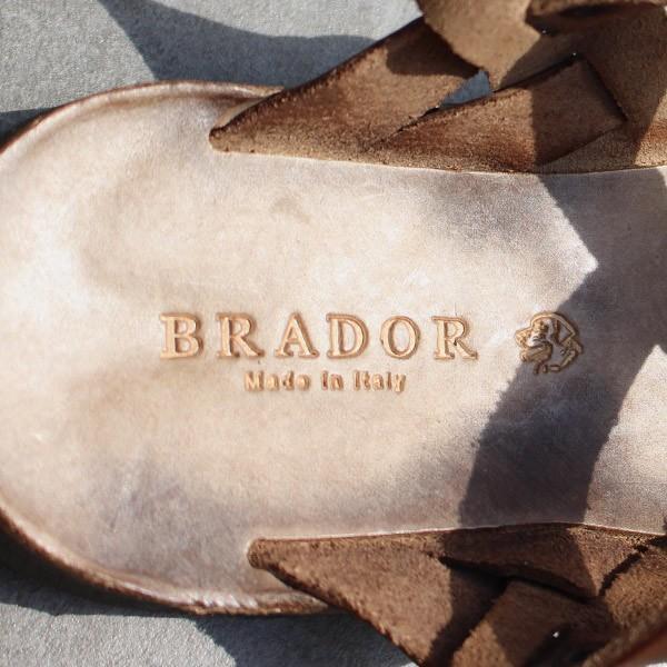 サンダル ブラドール レザーサンダル グラディエーター 『ART-34-506 BRADOR レディース ぺたんこ 歩きやすい フラット 本革 牛革』|a-depeche|15