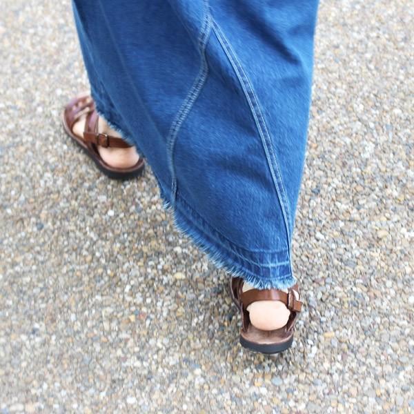 サンダル ブラドール レザーサンダル グラディエーター 『ART-34-506 BRADOR レディース ぺたんこ 歩きやすい フラット 本革 牛革』|a-depeche|09