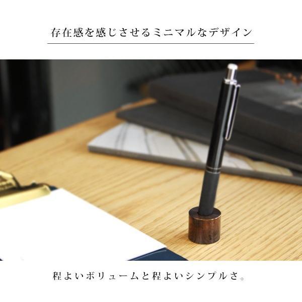 ブラス ペンスタンド (無垢) 『ペンスタンド ブラス 真鍮 無垢 デスク 整理 ペン立て 1本 丸型』|a-depeche|04