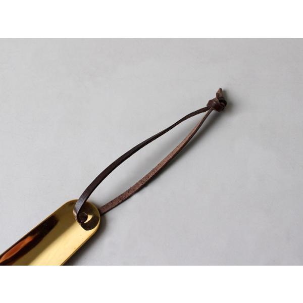 ブラス シューホーン Aタイプ シンプルな真鍮製くつべら 日本製|a-depeche|02