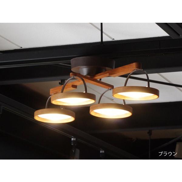 クルックス シーリングライト CRUX CEILINGLIGHT 天然木を利用した形を変えられるLED照明|a-depeche|04