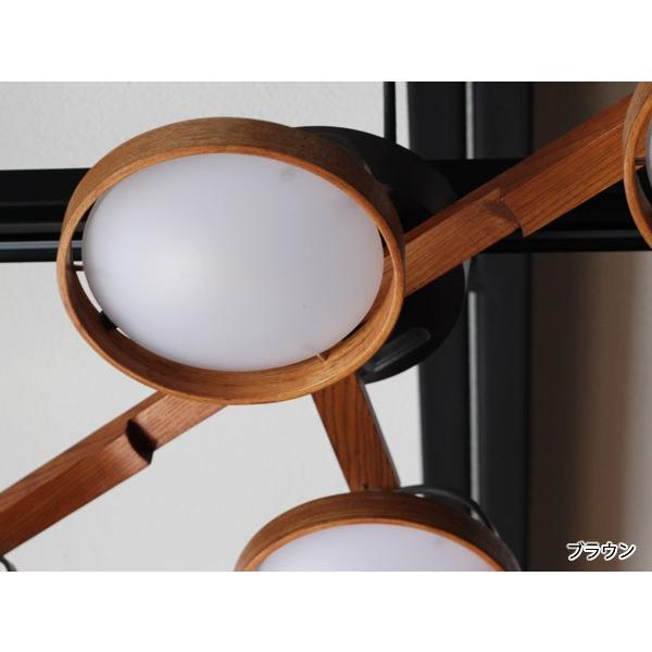 クルックス シーリングライト CRUX CEILINGLIGHT 天然木を利用した形を変えられるLED照明|a-depeche|06