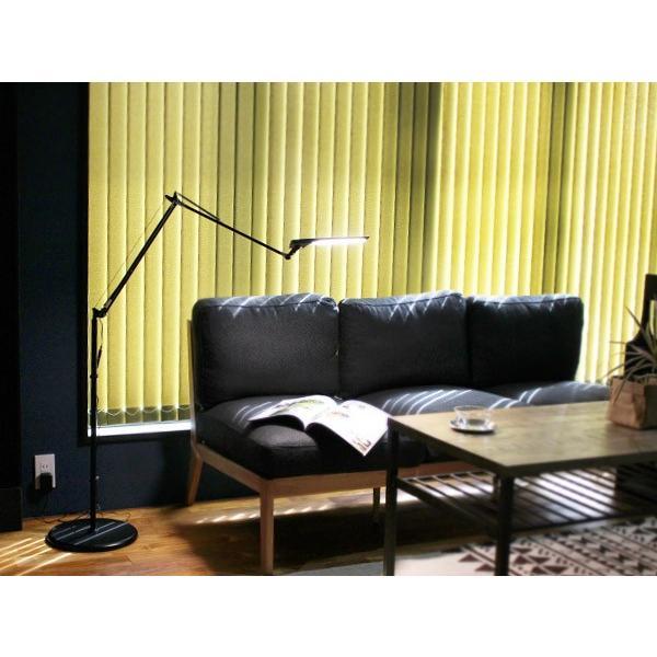 レディックエグザーム ディーバ フロアランプ LEDIC EXARM DIVA FLOORLAMP デスクライトとしても使える調光式のLED照明 a-depeche 05