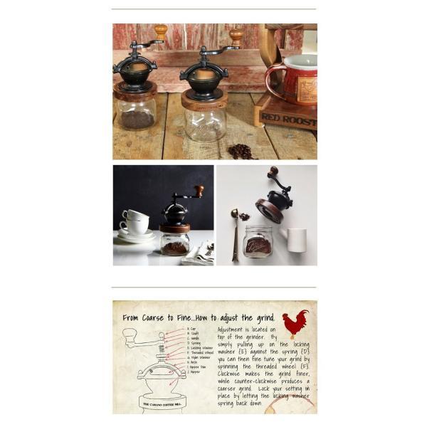 カマノ コーヒーミル メイソンジャーセット 『送料無料 コーヒーミル ハンドメイド コーヒー豆 ギフト プレゼント 贈り物 コーヒーグッズ Ball メイソンジャー』|a-depeche|07
