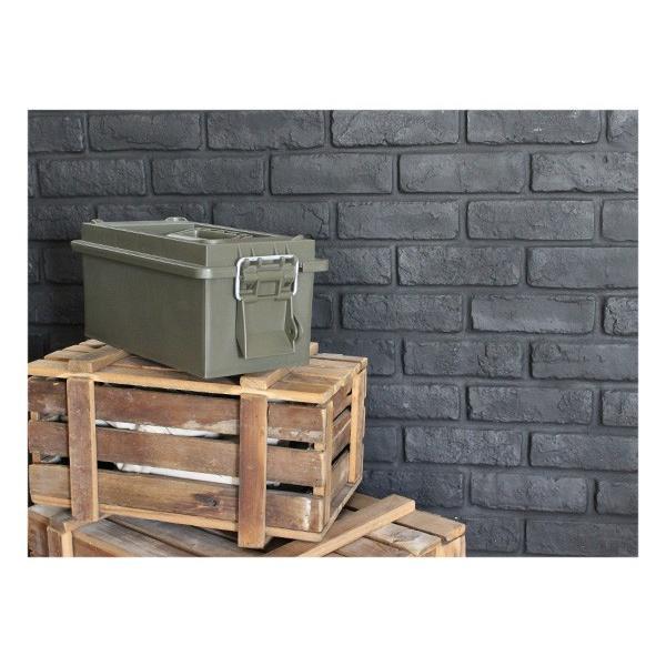 スモール ユーティリティーボックス オリーブドラブ 『HAYES TOOLING & PLASTICS ツールボックス 収納 箱 スタッキング 米軍 アメリカ製 米国 工具入れ』|a-depeche|07