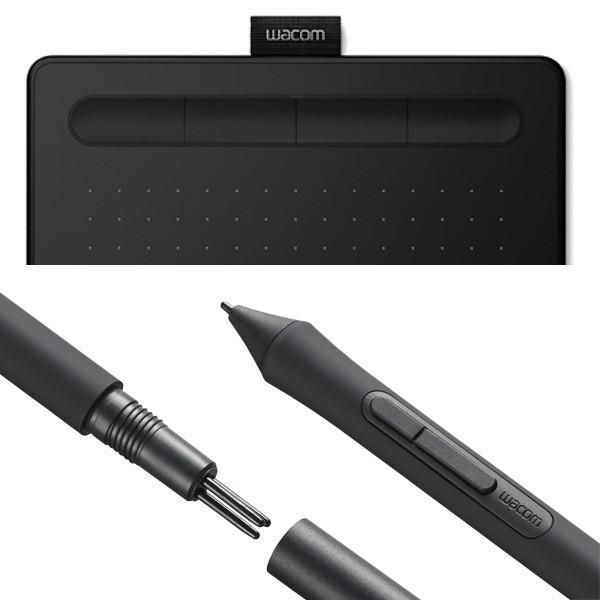 ワコム ペンタブレット Wacom Intuos Small ベーシック CTL-4100/K0 ブラック 筆圧4096レベル バッテリーレスペン|a-do|07