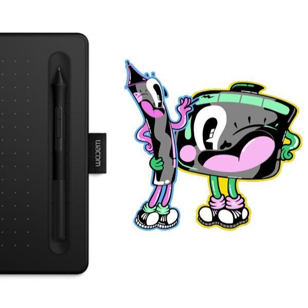 ワコム ペンタブレット Wacom Intuos Small ベーシック CTL-4100/K0 ブラック 筆圧4096レベル バッテリーレスペン|a-do|10