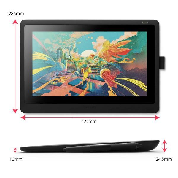 ワコム 液晶ペンタブレット Wacom Cintiq 16 DTK1660K0D 15.6インチ フルHD ディスプレイ Wacom Pro Pen 2 対応 15.6型|a-do|13