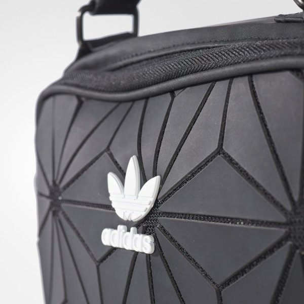 Adidas Originals 3D Mini Airliner AY5909 ISSEY MIYAKE Black Style Shoulder  Bag df63c86c19