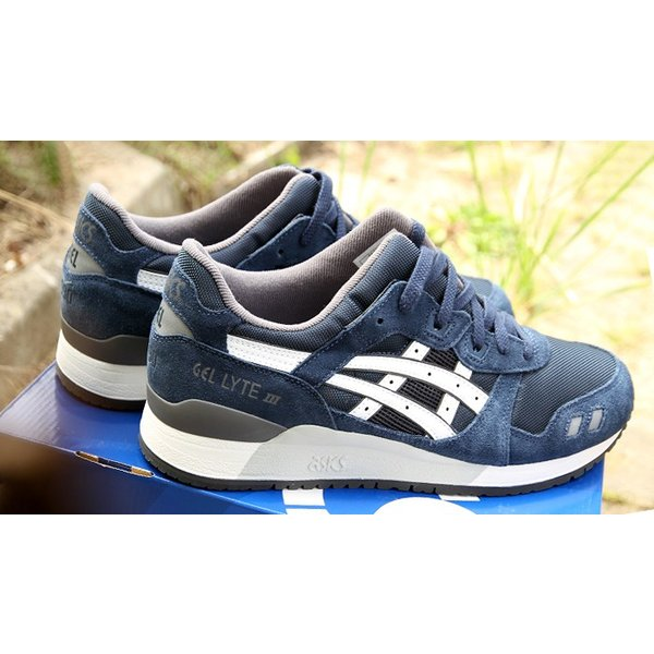 asics tiger アシックスタイガー Gel Lyte 3 25th Anniversary Pack NVY ゲルライト3 ネイビー|a-dot|02