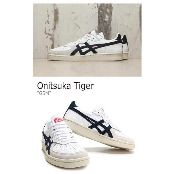 check out 13903 c07fe Onitsuka Tiger オニツカタイガー GSM WHITE NAVY ホワイト ...