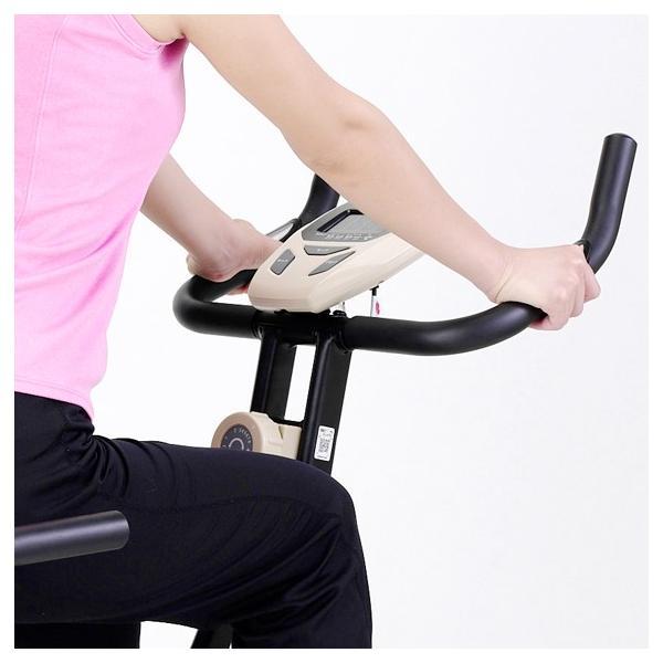 フィットネスバイク スピンバイク ダイエット コンフォートバイク4419C AFB4419C  健康|a-fitness|05