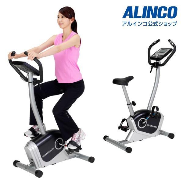 フィットネスバイク スピンバイク ダイエット AFB6214 プログラムバイク6214 健康 アルインコ|a-fitness