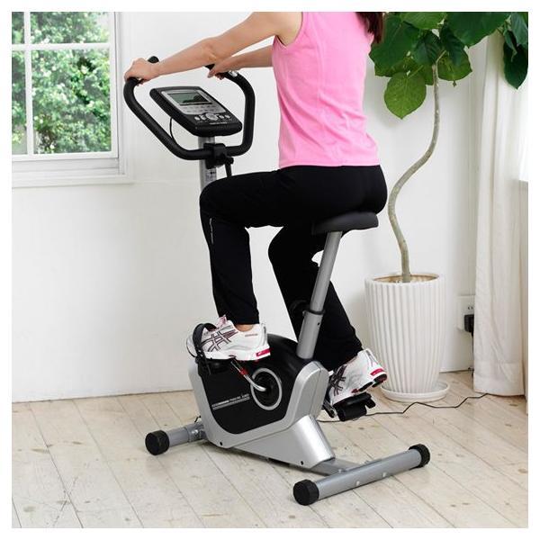 フィットネスバイク スピンバイク ダイエット AFB6214 プログラムバイク6214 健康|a-fitness|03