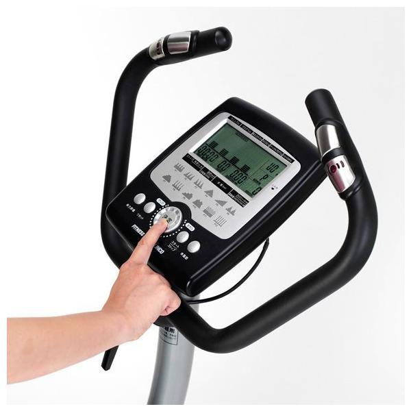 フィットネスバイク スピンバイク ダイエット AFB6214 プログラムバイク6214 健康 アルインコ|a-fitness|05