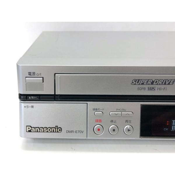 完全動作品 Panasonic ダビングOK DVDビデオレコーダー DMR-E70V リモコン 取扱説明書付 a-fun 02