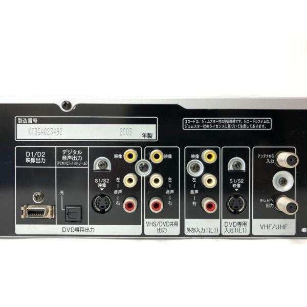 完全動作品 Panasonic ダビングOK DVDビデオレコーダー DMR-E70V リモコン 取扱説明書付 a-fun 07