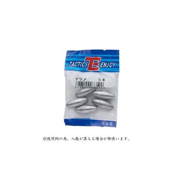 (タクティクスエンジョイ) TEパックおもり ナツメ 10号 074176 おもり 仕掛けパーツ 釣りアイテム