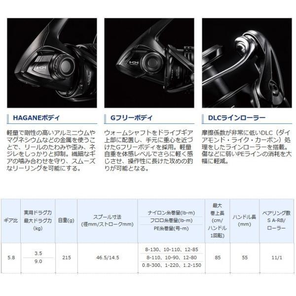 (シマノ) エクスセンス 3000MHG 037510 リール スピニングリール