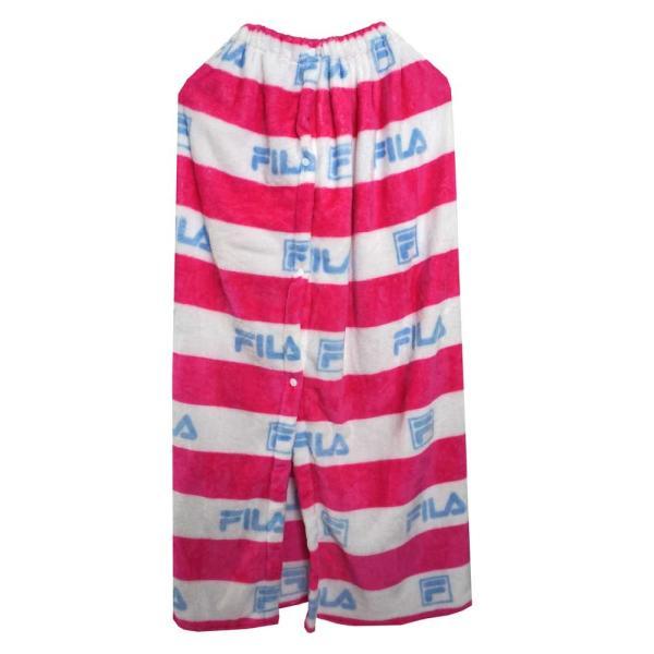 (FILA/フィラ) キッズ ラップタオル 120415 子供用 120-415 巻タオル お着替えタオル