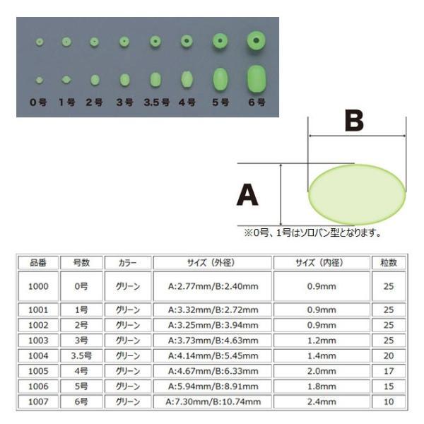 (東邦産業) 発光玉ソフト HKDS ソフトタイプビーズ 脱着可能 誘魚効果 仕掛け
