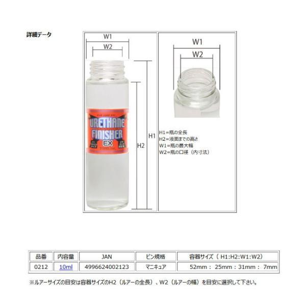(東邦産業) ウレタン・フィニッシャーEX 10ml 0212 002123 マニキュアタイプ 塗料 ウレタンコーティング UVカット剤配合 仕掛け作り