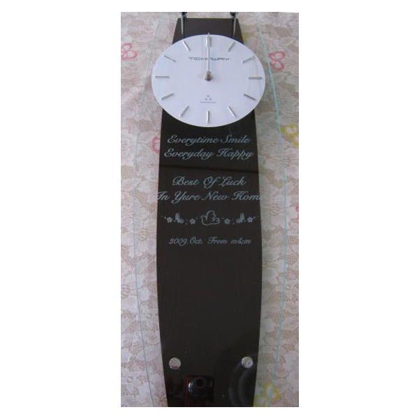 名入れ振り子柱時計ミニ 新築祝い開店祝い開業祝い結婚祝い卒団記念品先生への記念品卒業記念品|a-kana|04