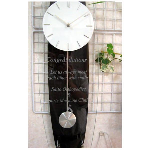 名入れ振り子柱時計ミニ 新築祝い開店祝い開業祝い結婚祝い卒団記念品先生への記念品卒業記念品|a-kana|05
