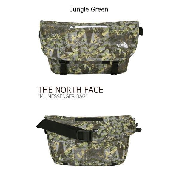 ノースフェイス クロスバッグ THE NORTH FACE ML MESSENGER BAG メッセンジャーバッグ JUNGLE GREEN ジャングルグリーン BLACK ブラック NN2PJ02A/C バッグ