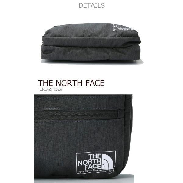 ノースフェイス ボディーバッグ THE NORTH FACE メンズ レディース CROSS BAG クロスバッグ GRAY NAVY BLACK グレー ネイビー ブラック NN2PK01A/B/C バッグ