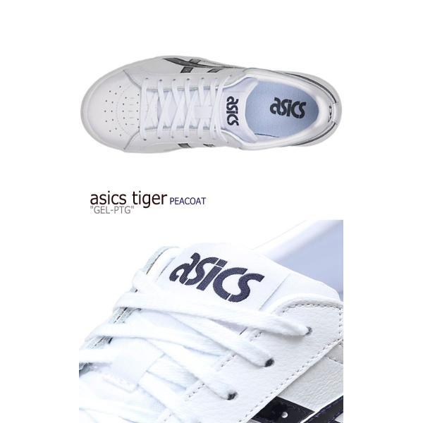 アシックスタイガー スニーカー asics tiger メンズ レディース GEL-PTG ゲル ポイントゲッター WHITE ホワイト PEACOAT ピーコート 1191A089-103 シューズ|a-labs|03