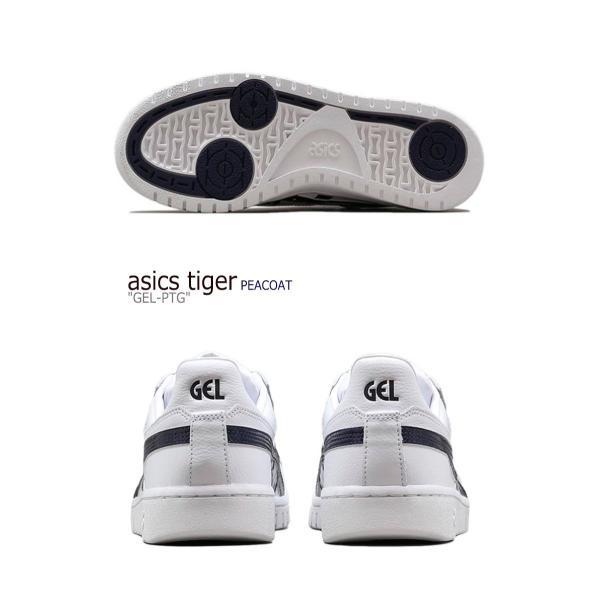 アシックスタイガー スニーカー asics tiger メンズ レディース GEL-PTG ゲル ポイントゲッター WHITE ホワイト PEACOAT ピーコート 1191A089-103 シューズ|a-labs|04