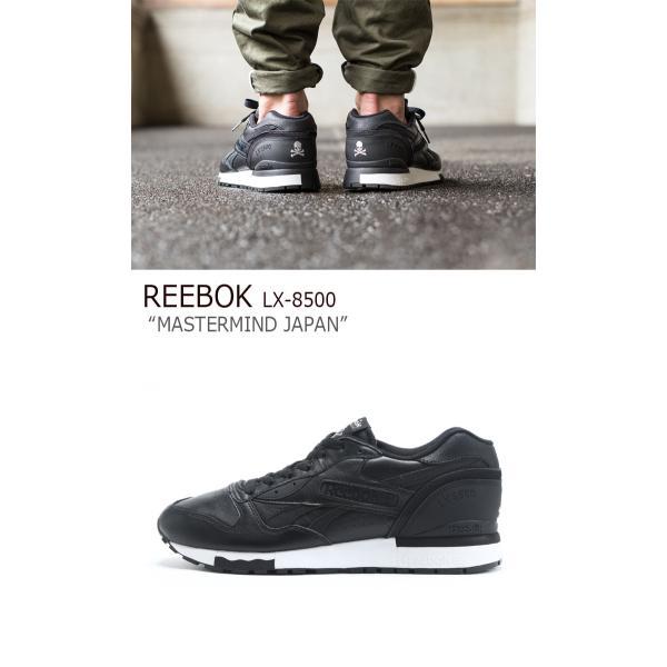 Reebok LX 8500 Mastermind JAPAN / ブラック リーボック  マスターマインド シューズ|a-labs|02